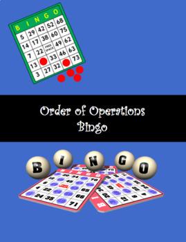 Bingo Order of Operations