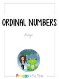 Bingo - Ordinal numbers - 1st to 31st