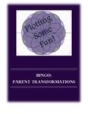 Bingo: Parent Functions Transformations