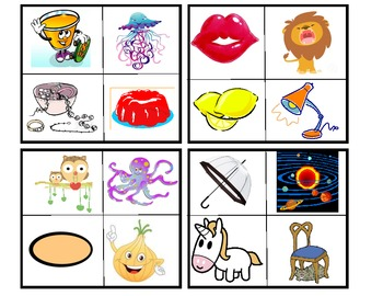 Bingo Picture Flashcards