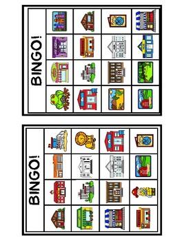Bingo - Places