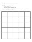 Bingo Review (super easy to organize)