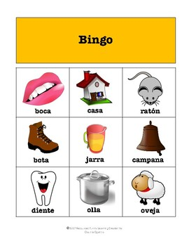 Bingo Rimas