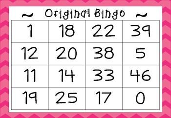 Bingo Set - Original