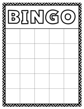 Bingo Sheets