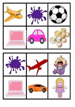 Bingo - Shopping/toys