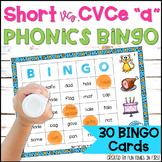 "Short and Long Vowel Games: Short ""a"" & Long ""a-e"" BINGO"