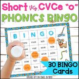 """Bingo:  Short """"o"""" and Long """"o"""""""