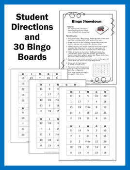 Confusing Words Bingo Game