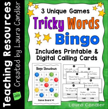 Confusing Words Review Game (Bingo Showdown)