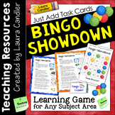 Bingo Showdown Game for Task Cards