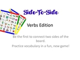 Bingo - Side-To-Side  - Basic Verbs Vocabulary Game