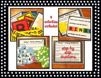 Bingo Song and Activity Set