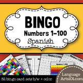 Bingo Spanish Numbers 1-100