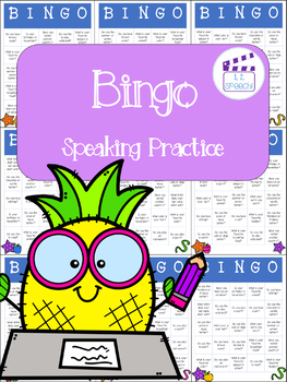 Bingo - Speaking Question and Answer Practice