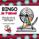 Bingo - St-Valentin