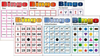 Bingo Super Starter Pack (6 basic bingo games)