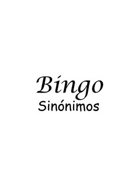 Bingo Synonyms
