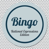 Bingo Template: Rational Expressions for Algebra 1