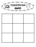 Bingo - Thanksgiving Theme