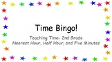 Bingo- Time Review (Hour, Half Hour, Five Minutes)