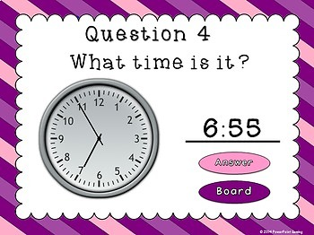 Bingo - Time to 5 minutes - PPT Game