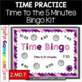 Bingo - Time to 5 minutes Powerpoint Game