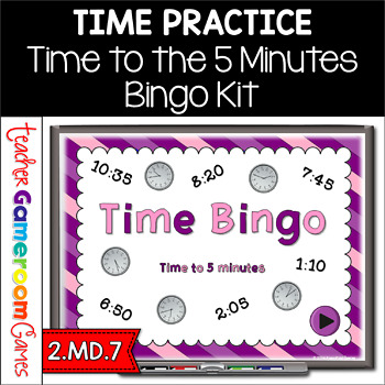 Bingo- Time to 5 minutes - PPT Game