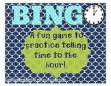 Bingo: Time to the Hour