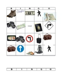 Bingo Travel Vocabulary