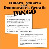 Tudors, Stuarts and Democracy's Growth BINGO