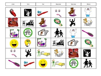 Bingo-Verbes Pronominaux