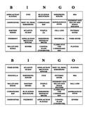 Bingo - Virginia Studies