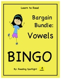 Reading Games: Vowel Families Bargain Bingo Bundle (LTR)
