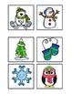 Bingo Winter Vocabulary Theme