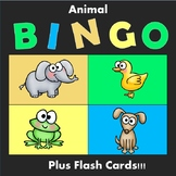 Bingo and Flash Cards: Animals