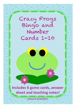 Bingo and Number Cards 1-10