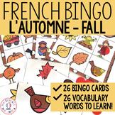 Bingo d'automne (FRENCH Autumn Bingo)