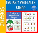 Bingo de Frutas y vegetales | pack de juegos | Spanish Resources