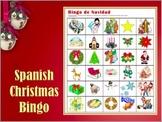 Bingo de Navidad - Spanish Christmas Vocabulary Bingo