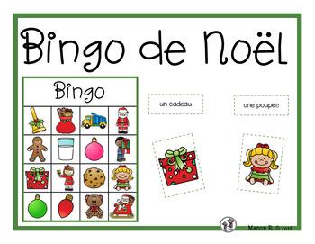 Bingo de Noël (Christmas Bingo)