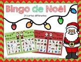 Bingo de Noël (24 cartes différentes) - Christmas Bingo in FRENCH (24 Cards)