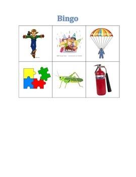 Bingo de Palabras Compuestas