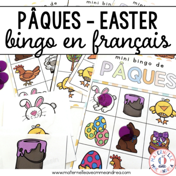 Bingo de Pâques (French Easter Bingo)