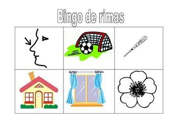 Bingo de Rimas