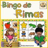 Bingo de Rimas-Spanish