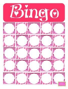 Bingo de Saint-Valentin
