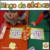 Bingo de Silabas-Spanish