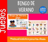 Bingo de Verano  | Pack de juegos| Spanish Resources