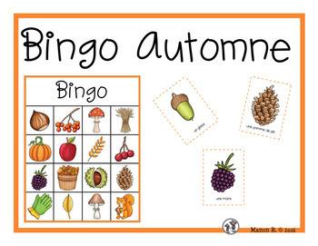 Bingo de l'automne  (Autumn Bingo)